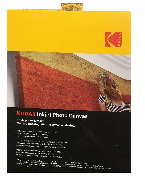 Amazon.com : Kodak Inkjet Photo Canvas A4 size 1 pcs ...