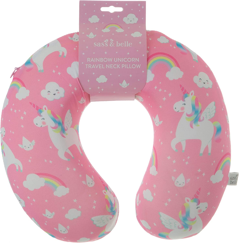 Rainbow Unicorn Travel Neck Pillow