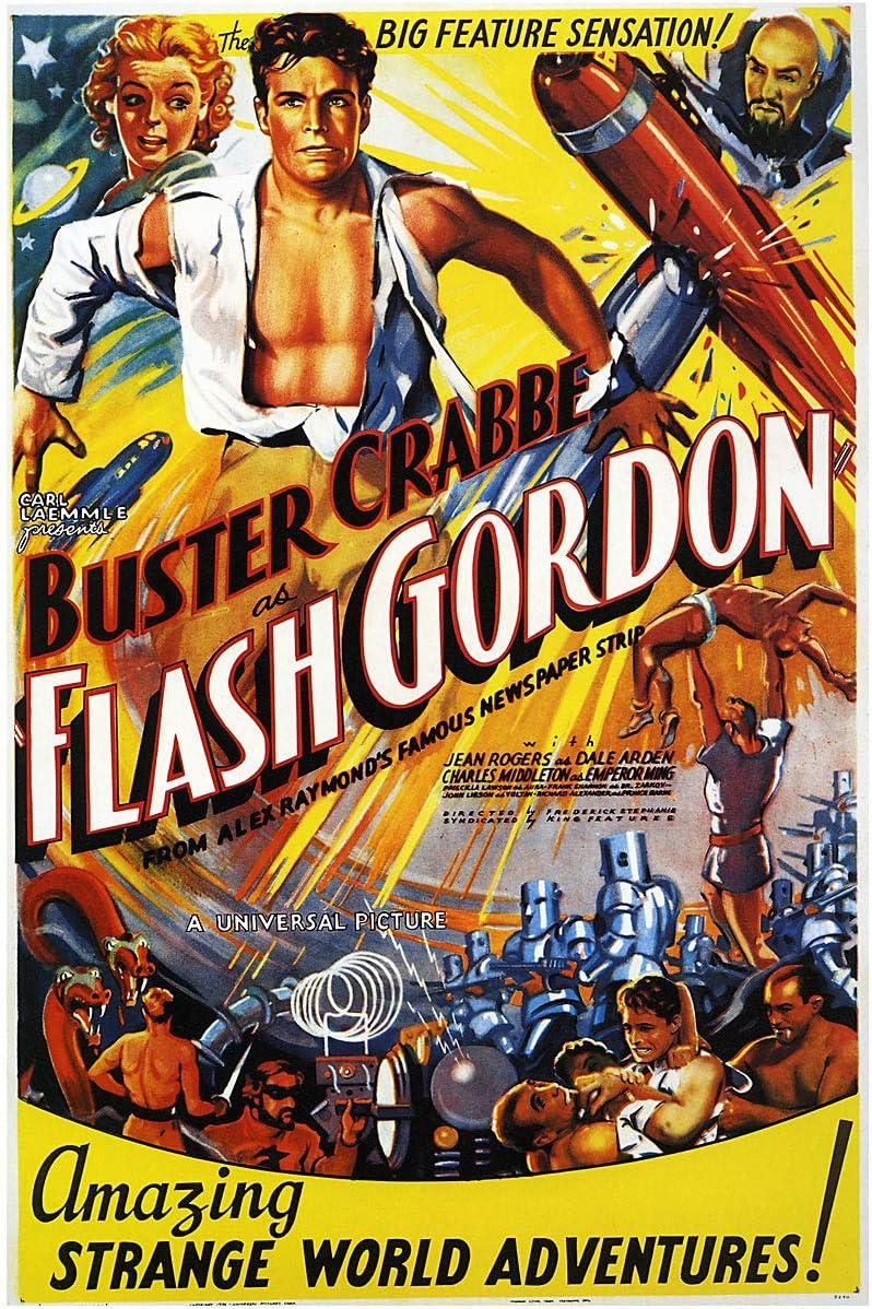 American Gift Services - Flash Gordon Vintage Movie Poster - 11x17