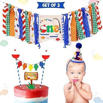 Amazon.com: Decoración 3 en 1 para fiestas de cumpleaños ...