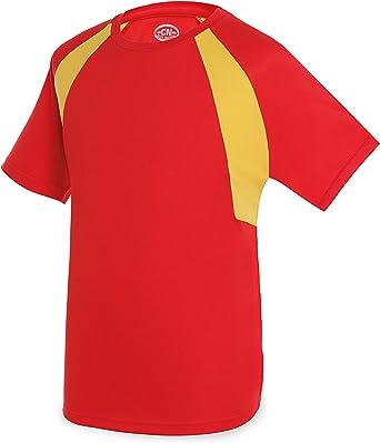 GARGOLA.ES OPERADORES DIGITALES Camiseta Bandera D&F-Camiseta Roja ...