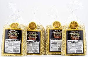 Troyer Popcorn Kernels, Medium White, 32 Ounces (Pack of 4)