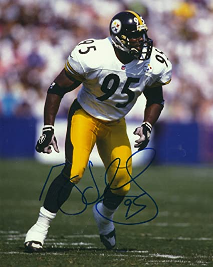 ff9ebd3f228 Autographed Greg Lloyd Pittsburgh Steelers 8x10 Photo with COA at ...