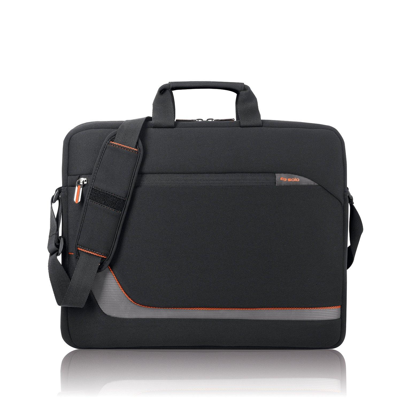 Solo Urban 17.3 Inch Laptop Slim Brief, Black VTR124-4