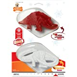 Nylabone Holiday Power Dental Dinosaur Chew Toy Twin Pack