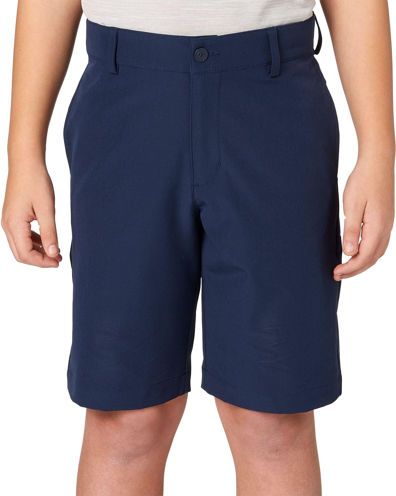 Slazenger Boys' Core Golf Shorts (Navy, Large)