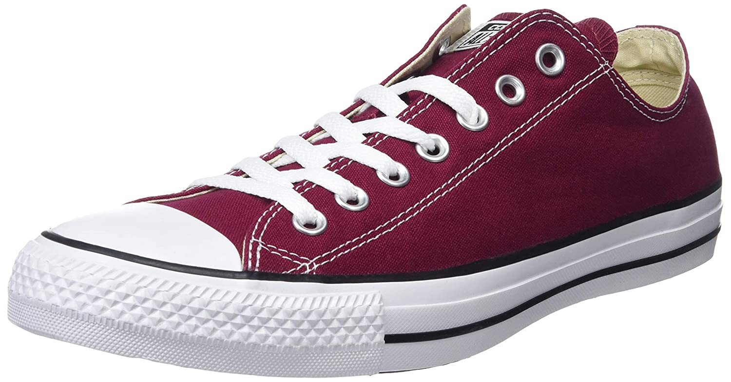 b51b7c15b649 Converse Chuck Taylor® All Star® Ox Maroon  Buy Online at Low Prices in  India - Amazon.in