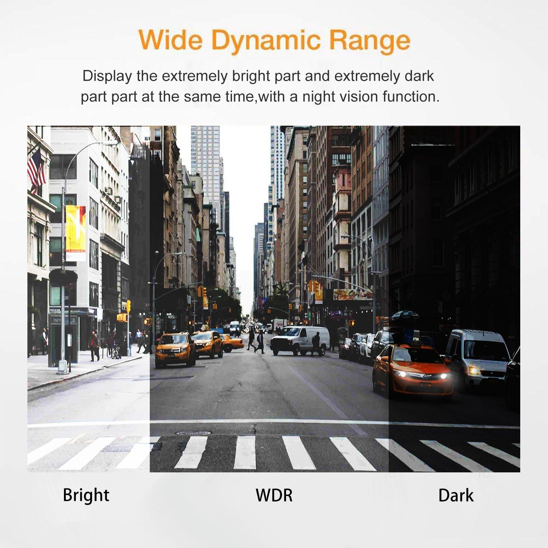 Enregistrement en Boucle,D/étection de Mouvement,Surveillance Parking NeKan Dashcam 1080P FHD Dash Cam Cam/éra Embarqu/ée Voiture 3/' LCD WDR Vision Nocturne Dashcam HDR Cam/éra