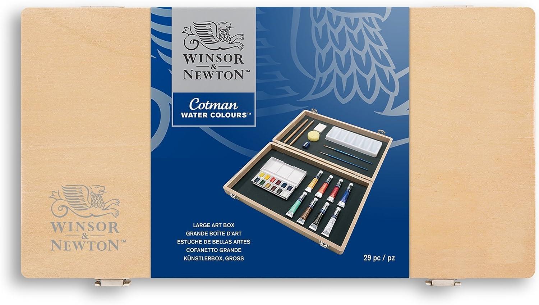 Winsor and Newton Cotman - Caja de acuarelas (tamaño grande ...