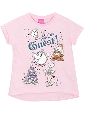 fc605c3d6 Disney Beauty & The Beast Girls Beauty and The Beast T-Shirt Ages 5 ...