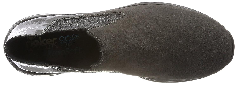 9 Gr/össe 42 Rieker Damen-Stiefelette grau