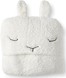 Aeropostale Bunny Blanket Floral White