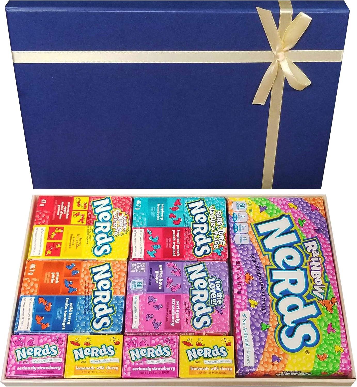 Nerds American Sweets - Caja de dulces retro: Amazon.es: Alimentación y bebidas