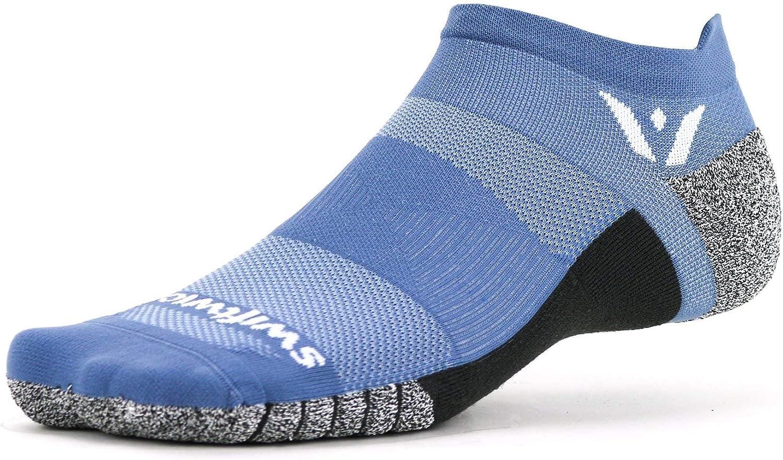 Swiftwick- FLITE XT ZERO Non-Slip Running Socks, Golf Socks, Ultimate Stability