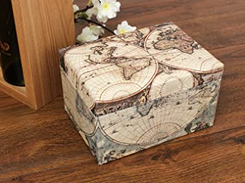 Store indya jewellery box elegant hand crafted vintage world map store indya jewellery box elegant hand crafted vintage world map design storage presentation made with high gumiabroncs Image collections