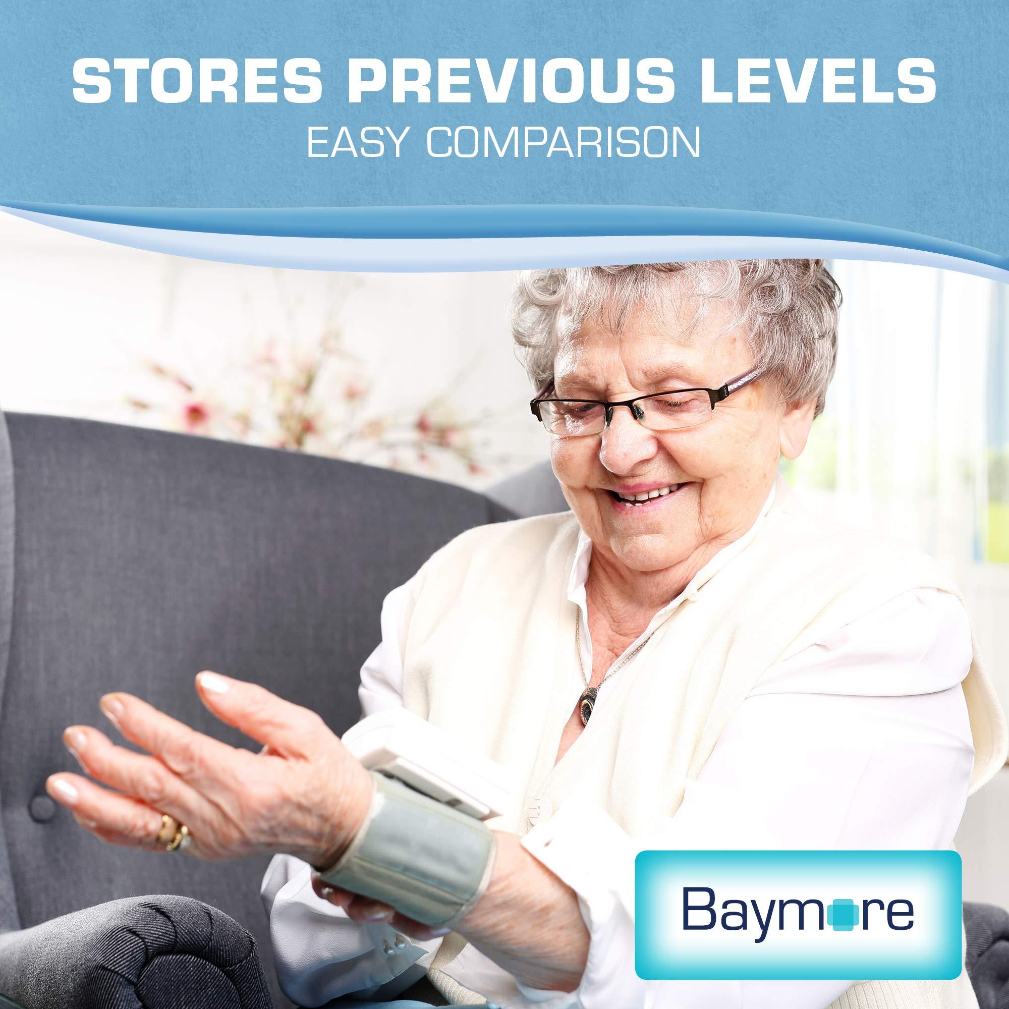 Baymore Digital Wrist Blood Pressure Monitor Cuff by Baymore (Image #5)