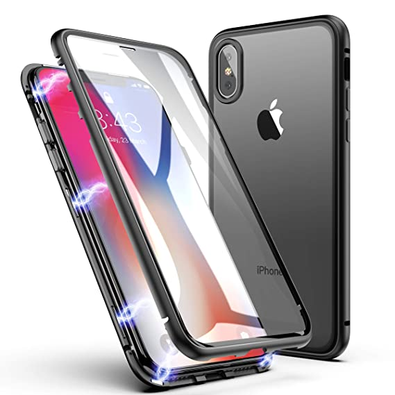 iphone xr case with magnetic back