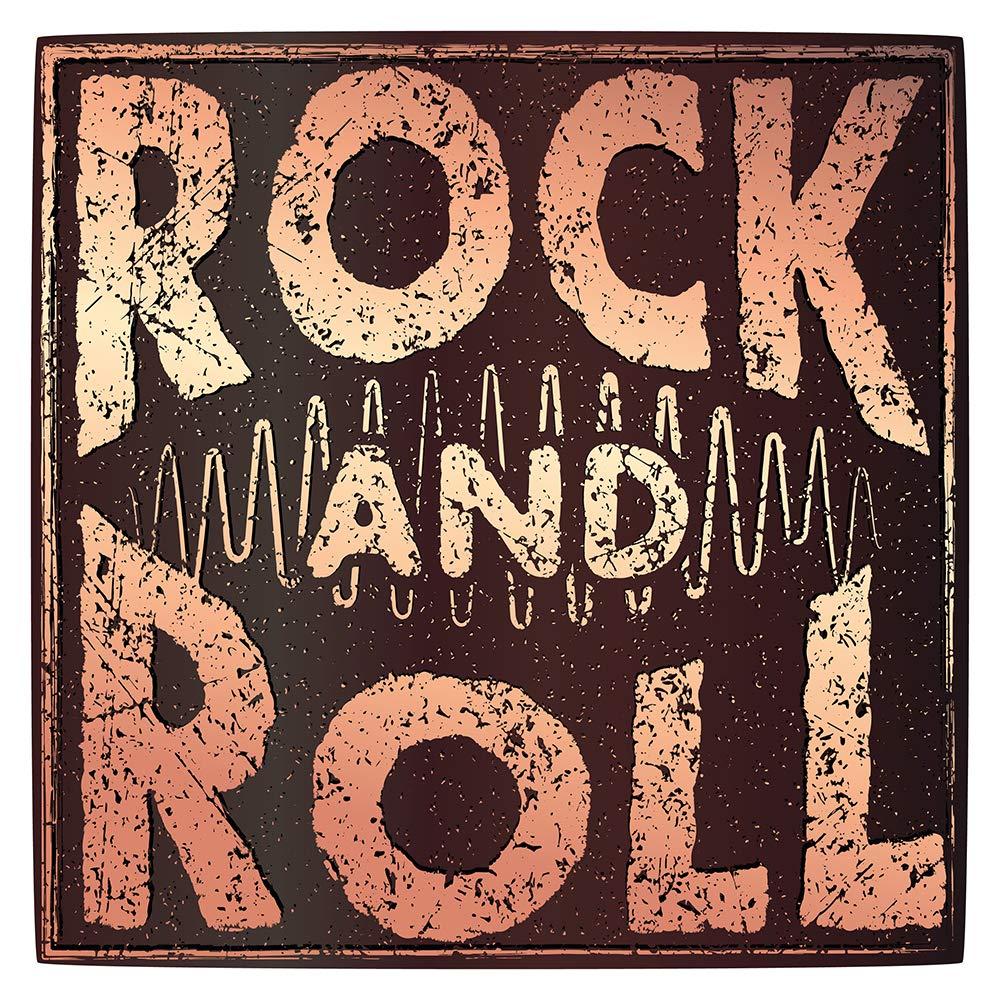 Pegatina de pared Salón de música Motivo Rock and Roll en ...