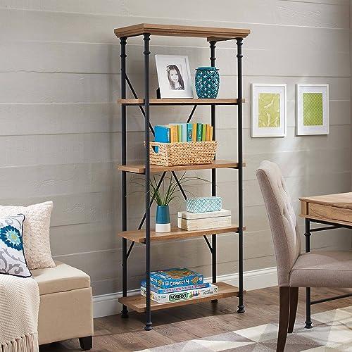 River Crest 5-Shelf Bookcase