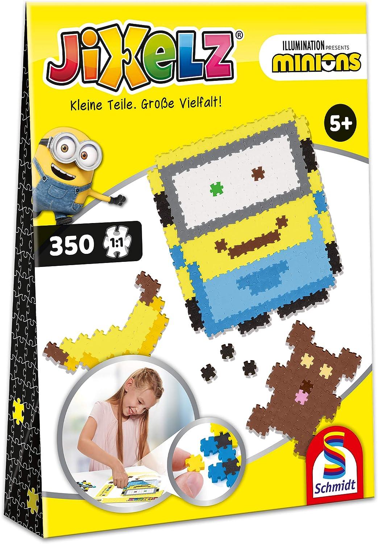 Schmidt Spiele Jixelz, Minions, 350 Piezas, Juego de Manualidades para niños (46107): Amazon.es: Juguetes y juegos