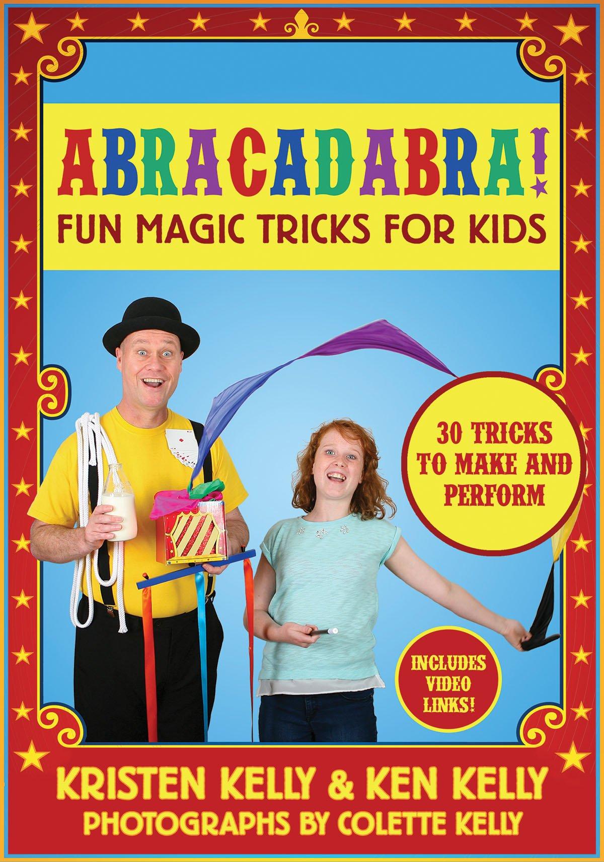 Amazon.com: Abracadabra!: Fun Magic Tricks for Kids - 30 tricks to ...