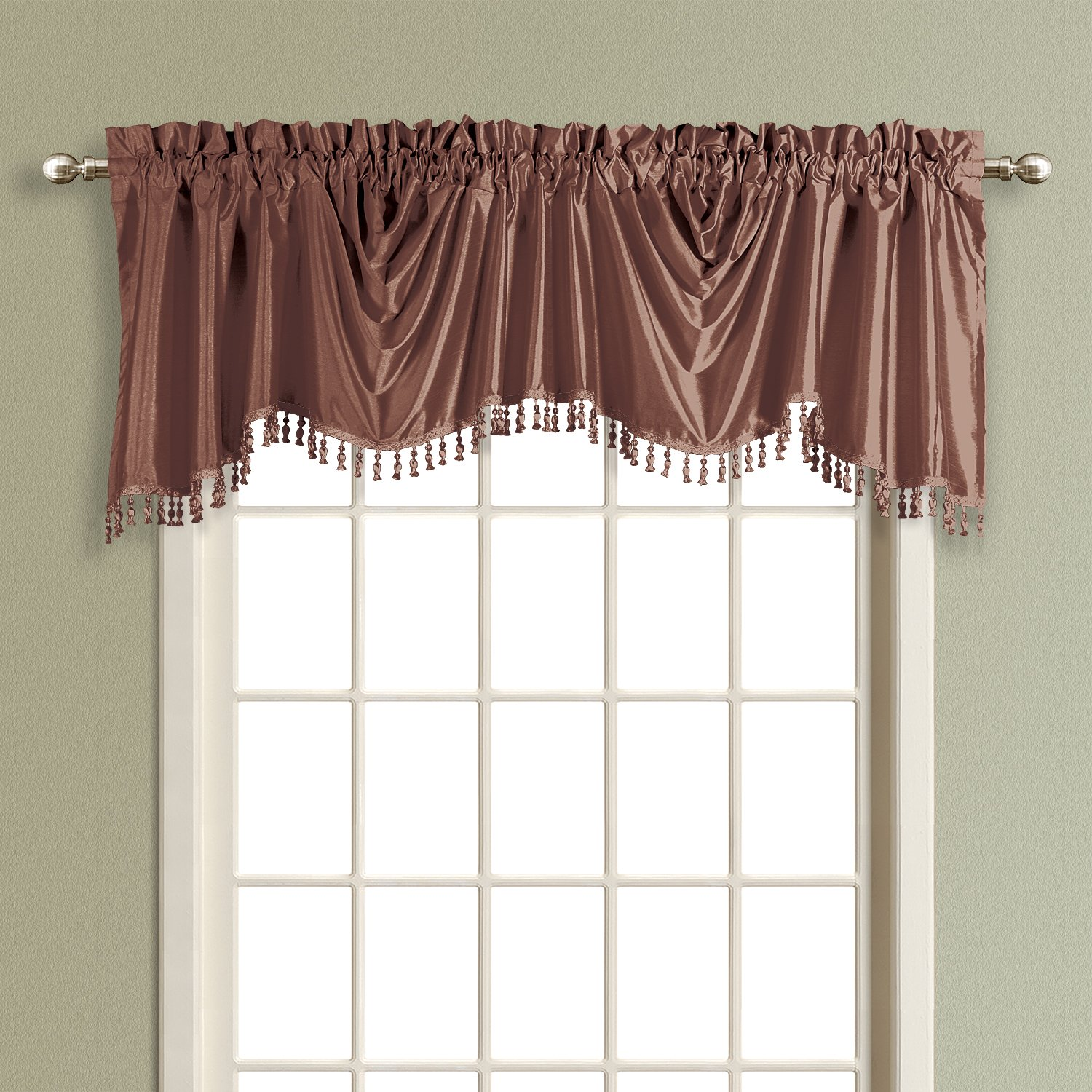 prod p fun home natasha sears tailored window tasseled is valance decorating whole your ascot qlt wid spin with hei