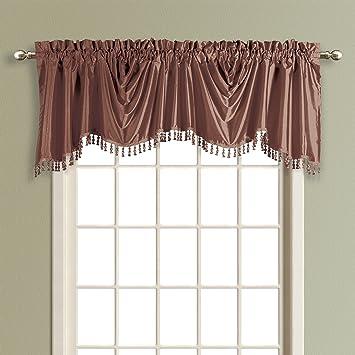 Curtains Ideas austrian valances curtains : Amazon.com: United Curtain Anna Austrian Valance, 108 by 31-Inch ...