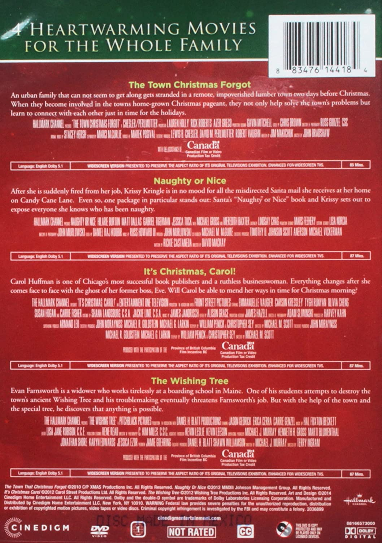 Amazon.com: Hallmark Holiday 4 Pack DVD Set - Naughty or Nice, Its ...