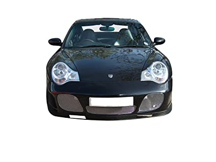 Zunsport Porsche 996 Turbo + C4S - Front Grille Set - Silver finish (2000 to