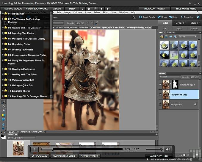 Amazon com: Adobe Photoshop Elements 10 for Windows and Mac