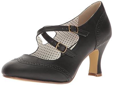 63c6db26c006cc Pinup Couture Damen Flapper-35 Pumps  Amazon.de  Schuhe   Handtaschen