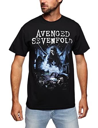 cc47b3bf865 Avenged Sevenfold - Recurring Nightmare (T-Shirt Unisex Tg. XL) [Italia]: Avenged  Sevenfold: Amazon.es: Ropa y accesorios