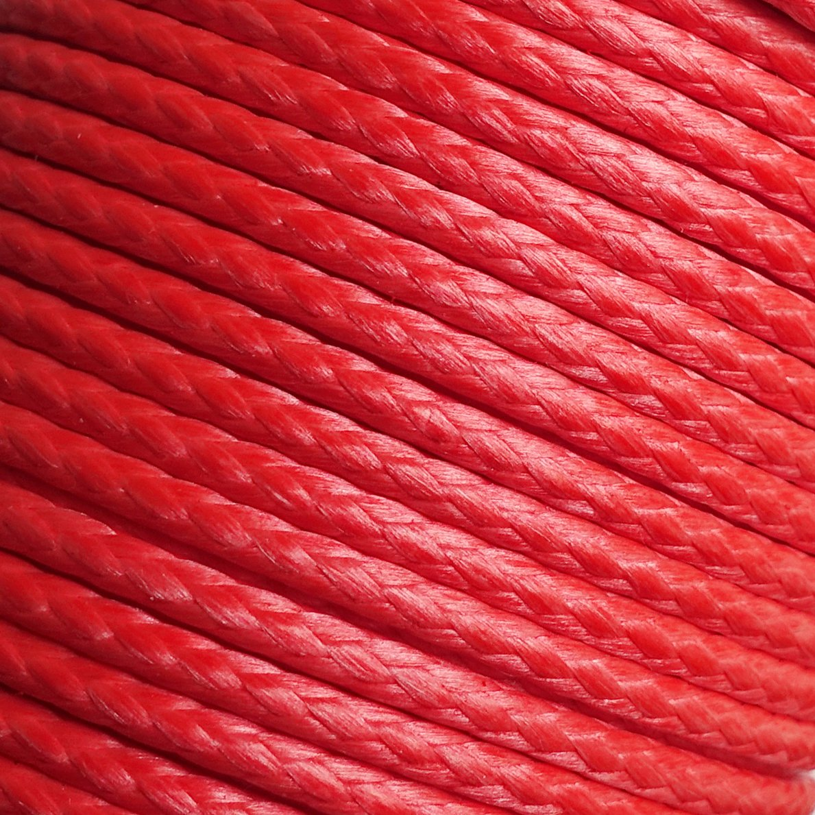 emma kites Red UHMWPE Braided Cord High Strength Least Stretch Tent Tarp Rain Fly Guyline Hammock Ridgeline Suspension for Camping Hiking Backpacking Survival Recreational Marine Outdoors 100Ft 350Lb by emma kites (Image #2)