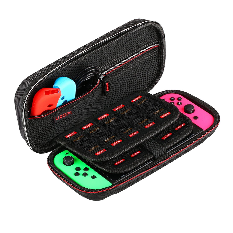 Funda para Nintendo Switch, VOOKI Funda con más Espacio de...