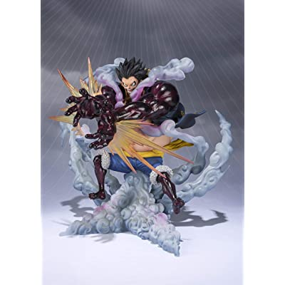 "Tamashii Nations Figuarts Zero Monkey.D.Luffy-Gear 4 Leo Bazooka ""One Piece\"" Statue: Toys & Games [5Bkhe1107337]"