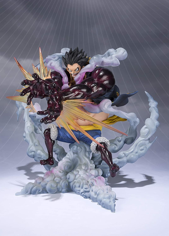"Tamashii Nations Figuarts Zero Monkey.D.Luffy-Gear 4 Leo Bazooka ""One Piece"" Statue"