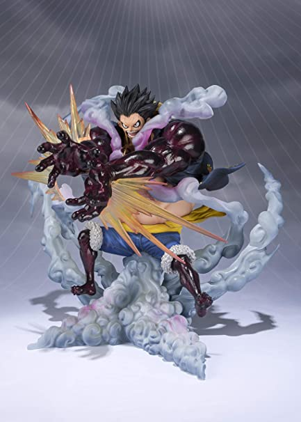 Tamashii Nations Figuarts Zero Monkey D Luffy Gear 4 Leo Bazooka One Piece Statue