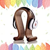 Headphone Stand Wood,Samdi U Shaped Birch Wooden Headset Hanger Holder for Gaming Headphone Stable & Compact Earphone Stand AU Stock