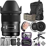 Sigma 35mm F1.4 Art DG HSM Lens for Nikon DSLR Cameras + Sigma USB Dock with Altura Photo Essential Accessory and Travel…