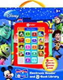 Disney Electronic Reader and 8 Book Library: (3in)