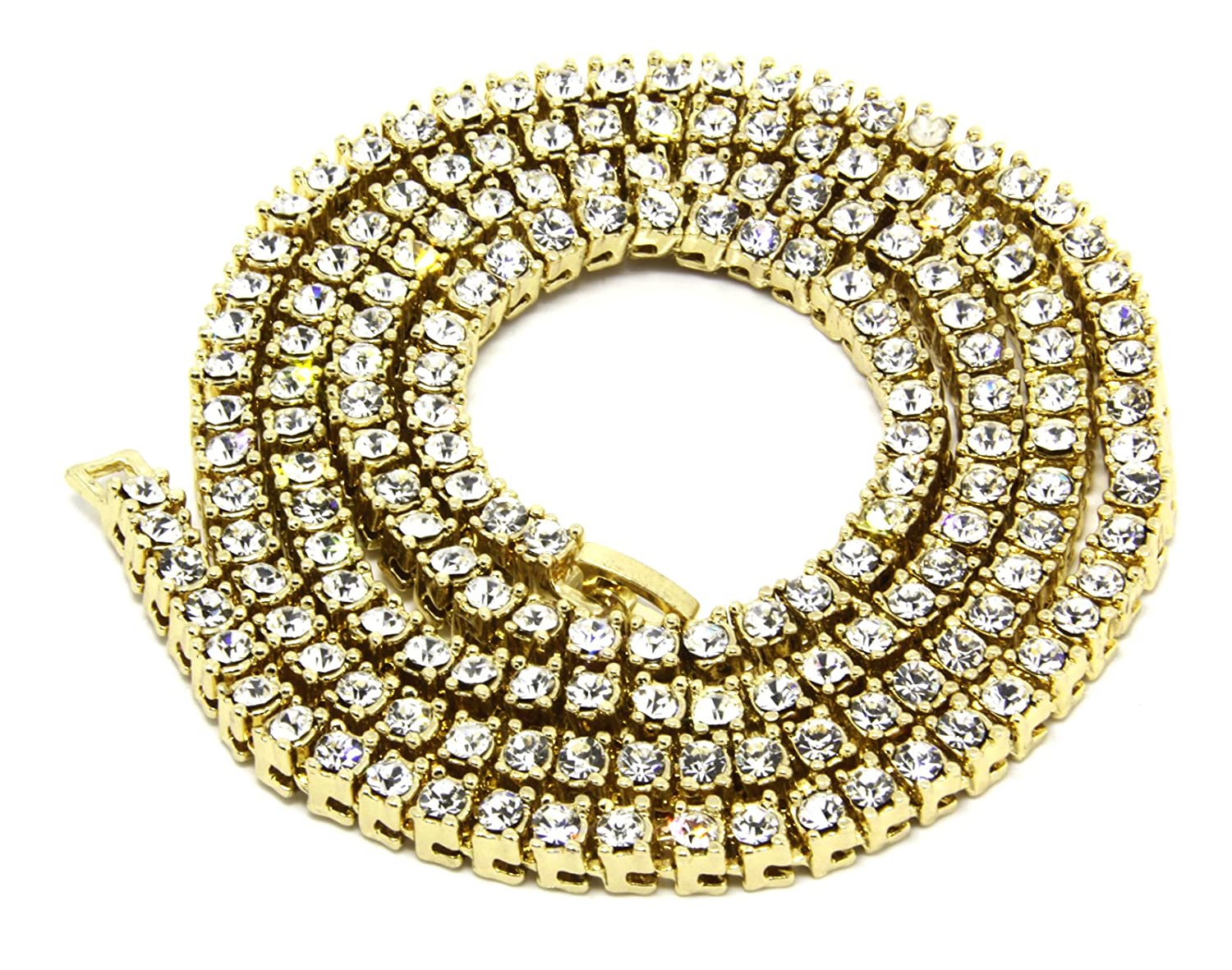 rope high products finish world c chain diamond jewelry yellow classic cm mm shine simulated necklace quality gold solid