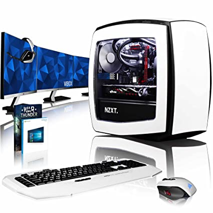 VIBOX Atom RS570-415 Gaming PC Ordenador de sobremesa con ...