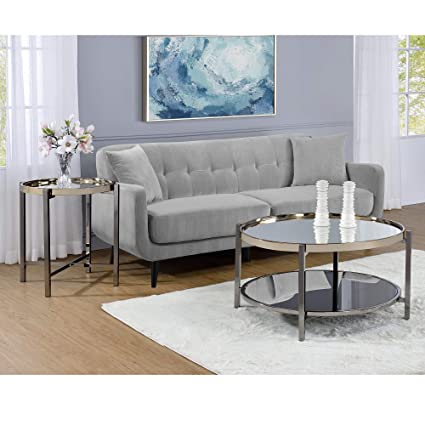Astounding Amazon Com Picket House Furnishings Monaco Round Coffee Pabps2019 Chair Design Images Pabps2019Com