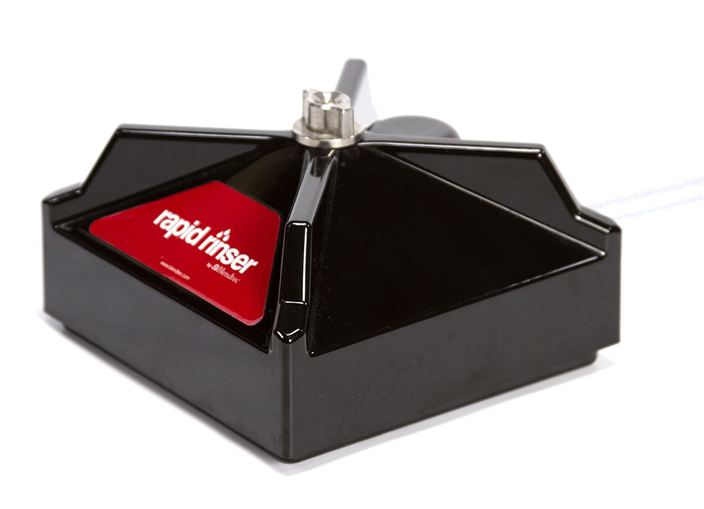 Blendtec Rapid Rinser, Easy Blender Cleaning, One-Push Operation, 6 foot hose, Compatible with Blendtec Blenders, Black