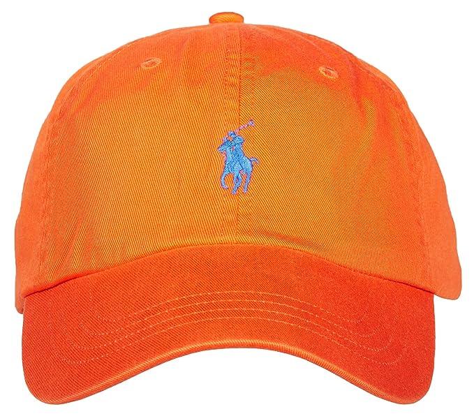 size 40 8cb72 26abf Ralph Lauren - Cappellino da Baseball - Giacca - Uomo Orange ...