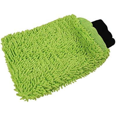 Detailer's Preference Reversible Wash and Scour Mitt: Automotive