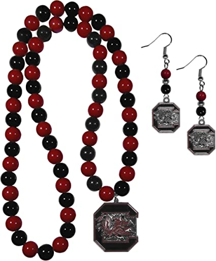 NCAA South Carolina Fighting Gamecocks Stud Earrings