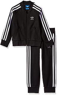 Amazon Com Adidas Originals Outerwear Big Kids Superstar Track Suit
