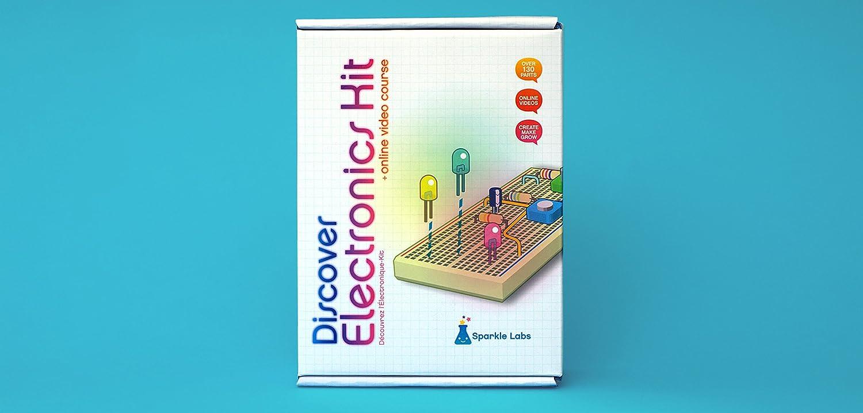 Diy Design Electronics Kit Sparkle Labs Industrial Return To Circuits Circuit Ideas Scientific