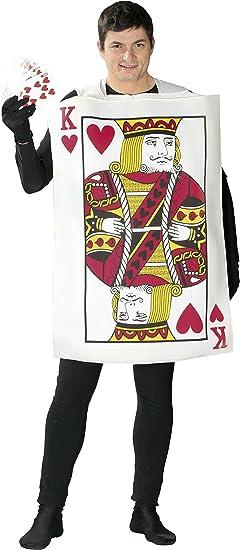 Guirca- Disfraz adulto rey de cartas, Talla 52-54 (80769.0 ...